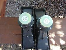 Pair of Midrange horns from original Realistic MACH ONE speaker