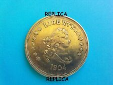1804 USA One Dollar Liberty Eagle Metal Coin Novelty Collectors / Reproduction