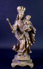 Maria mit Jesuskind -  Zepter & Krone - DOLFI - 30cm