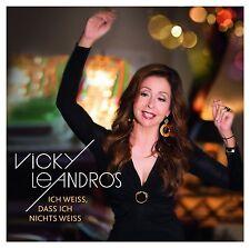 VICKY LEANDROS - ICH WEIß,DASS ICH NICHTS WEIß  CD NEW+