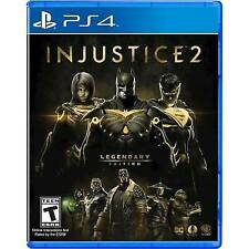 Injustice 2: Legendary Edition (PlayStation 4, 2018) Ps4