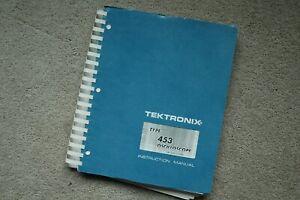 Tektronix TYPE 453  Oscilloscope Service Manual all Schematic Parts: 070-0478-00