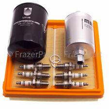 Porsche 911 (3.2 L), el aceite de aire Filtro De Combustible Motor Kit De Servicio & Spark Plugs