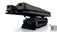 CUSTOM PDF Bauanleitung Bundeswehr Pionier Panzer Biber Brücke für LEGO® Steine