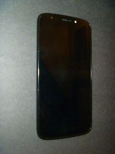 MOTOROLA MOTO E5 PLAY - BLACK ANDROID SMARTPHONE - VERIZON - GREAT CONDIT