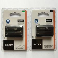 2x NP-FM500H For Sony A350 A850 A900 A550 A500 A700 A77 A99 A450 A560 A580 A200K