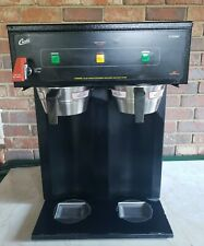 Commercial Curtis D1000ap Duel Air Pot Brewer Withbaskets Coffeetea Maker Works