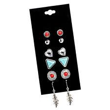 New Women Graceful Earrings Fashion 6 Paris/Set Crystal Earrings Wholesale