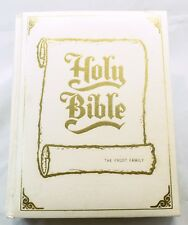 Holy Bible Large Padded Family Bible King James Version CSS Edition Red Letter