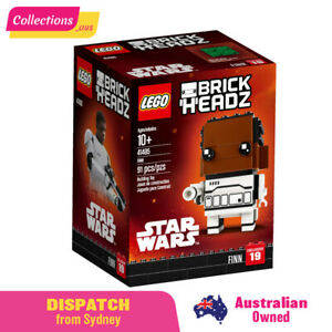 GENUINE LEGO Brickheadz Star Wars Finn 41485 -FREE Shipping - Sealed Damaged Box