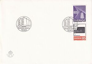 SWEDEN 1974 FIRST DAY COVER, & INSERT, THREAD AND SPOOL, SEWING MACHINES