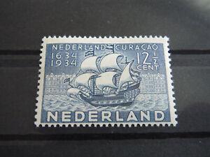 Netherland - Nice Stamp Year 1934 MLH* Tercentenary of Curacao