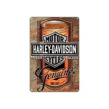 Harley-Davidson Motor Cycles Vintage Retro Sign Decor Art Shop Man Cave Bar