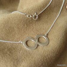 Unendlich Symbolkette in 925er Silber mit Gravur, Infinity, endless, sonsuzluk
