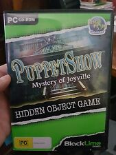 Puppetshow - Mystery of Joyville  - PC GAME - FREE POST