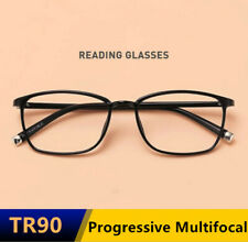 TR90 Progressive Multifocal Anti Blue light reading distance glasses Black Red