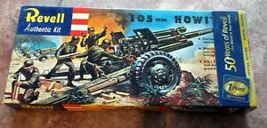 REVELL H-539:79 105mm HOWITZER MODEL KIT - 50 YEAR SPECIAL EDITION (QTY 1) -NEW