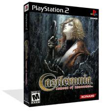CASTLEVANIA LAMENT OF INNOCENCE PS2 di ricambio Game Box Case + Copertina lavoro Nessun Gioco