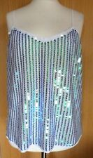 Next Ladies Blouse Top 18 Sequin Evening Party Summer Holiday Going out £35 rc