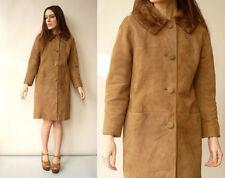 Women's Suede Hippy Basic Vintage Coats & Jackets