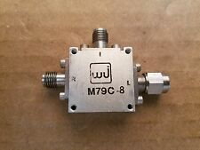 Watkins-Johnson WJ M79C-8 Double Balanced Mixer 5-18GHz RF Microwave SMA #069143