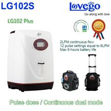 Portable Oxygen Concentrator 5 Litres 8 Hrs travel Battery 24Hrs Use 96% Oxygen