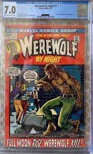 werewolf by night 1 CGC 7.0