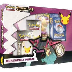 Pokemon TCG: Celebrations Collection Dragapult Prime SEALED NEW
