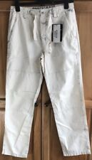 Murphy & NYE - Sailmakers Cruz Canvas Trousers, Bleatched, Small, W30 L30, BNWT