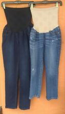 Lot of 2 Jessica Simpson Maternity XL Jeans Secret Fit Belly