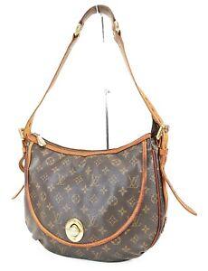 Authentic LOUIS VUITTON Tulum GM Monogram Crossbody Shoulder Bag Purse #38391