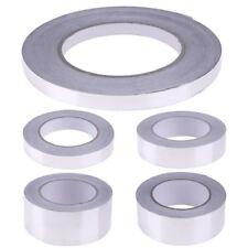 Aluminium Foil Tape 20-48-72-96MM X 50M 10M Heath Insulation Duct Self Adhesive