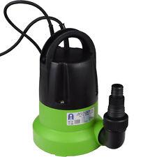 Pumpe Gartenpumpe Tauchpumpe integrierter Schwimmerschalter flachsaugend 1 mm
