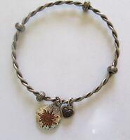 Brighton ART & SOUL HAPPINESS bangle bracelet - Charm sun heart