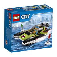 LEGO® City 60114 Rennboot - NEU / OVP