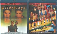 WILDTHINGS DOUBLE FEATURE: Wild things Foursome-Sexy Unrated Version-NEW BLU RAY