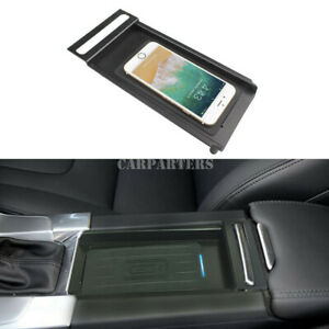 For Volvo S60 V60 Wireless Car Charger Wireless Phone Fast Charger Pad 2012-2017