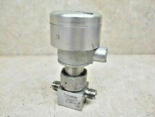 """Swagelok   air actuated valve  1/4""""  700 PSI  stainless   SS-4BK-1D  N.O."""