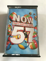 Now That's What I Call Music Vol 57 / 2004 Double Cassette Tape / Tested