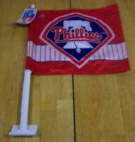 PHILADELPHIA PHILLIES MLB BASEBALL CAR FLAG NEW w/ TAG