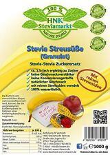 Stevia Streusüße Granulat mit Erythrit Dosierung wie Zucker 1er Pack