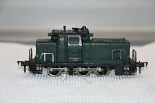 Fleischmann H0 Diesellok V 60 grün 1380 F der SNCB Gußmodelle