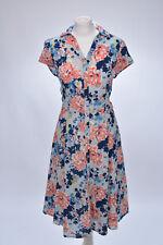 Kleid Sommerkleid im Hemdblusen-Stil von Tu, 42 XL, neu