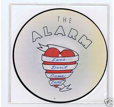 "LP PICTURE DISC 10""ALARM LOVE DON'T COME EASY"