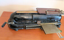 Antique Todd Protectograph Cast Iron Check Writer, Early 1900s