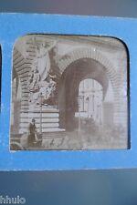 STA465 Le Louvre Paris Musée STEREO photo albumen transparente photography