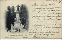 Marseille Frankreich France CPA 1899 Monument des Mobiles Denkmal