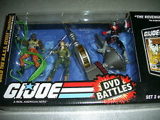 GI Joe 25th Anniversary Revenge of Cobra DVD Battles MASS Device Lady Jaye Set 2