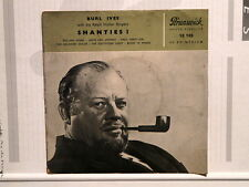 BURL IVES Shanties! Rolling home / Leave her, Johnny... 10109