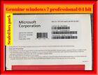 Microsoft Windows 7 Professional 64bit Full Version DVD with Product Key COA